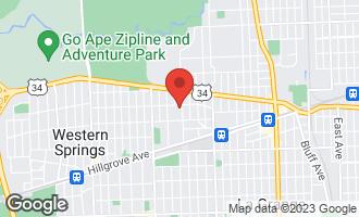 Map of 92 North Edgewood Avenue LA GRANGE, IL 60525