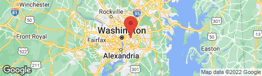 Map of 920 45TH PLACE NE WASHINGTON, DC 20019