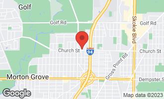 Map of 9201 Luna Avenue MORTON GROVE, IL 60053