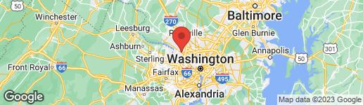 Map of 9208 HARRINGTON DRIVE POTOMAC, MD 20854