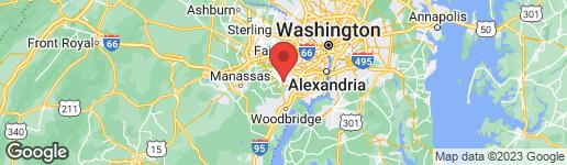 Map of 9208 SHOTGUN COURT SPRINGFIELD, VA 22153