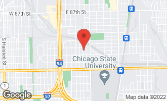 Map of 9223 South Forest Avenue CHICAGO, IL 60619