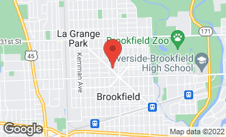Map of 9229 Monroe Avenue BROOKFIELD, IL 60513