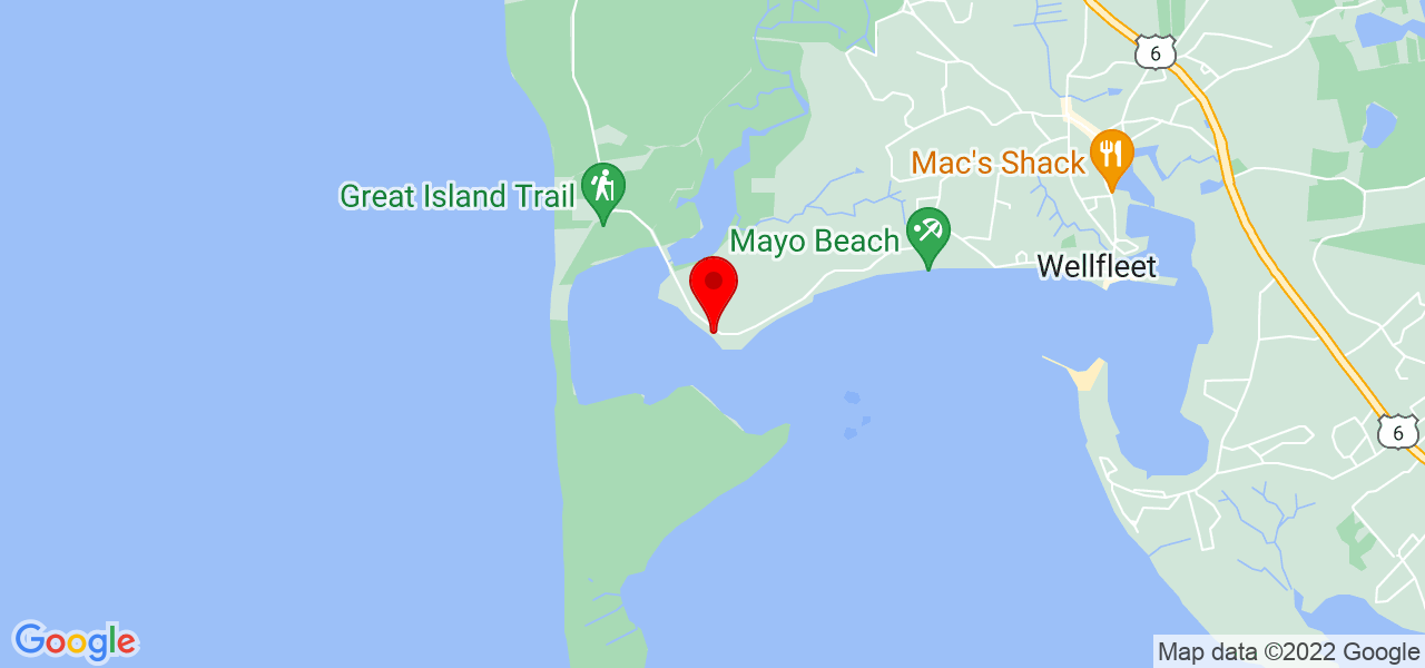 Google Map of 925 Chequessett Neck Rd Wellfleet MA