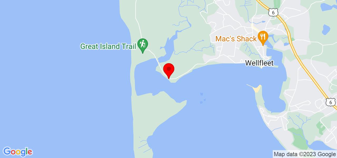 Google Map of925 Chequessett Neck Rd Wellfleet MA