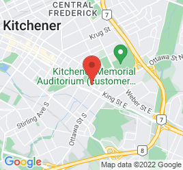 Google Map of 926+King+Street+East%2CKitchener%2COntario+N2G+2M8