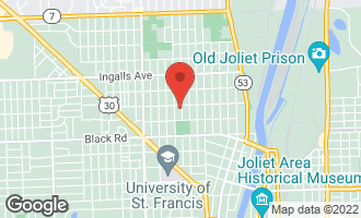 Map of 927 Highland Avenue JOLIET, IL 60435