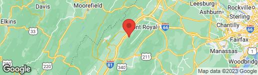 Map of 93 FOREST VIEW RIDGE EDINBURG, VA 22824