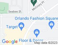 Google Map of 3165 McCrory Place, Orlando FL