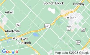 Map of Toronto West KOA