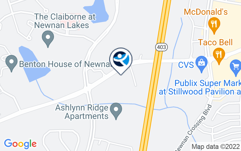 Treatment Center of America - Newnan Location and Directions