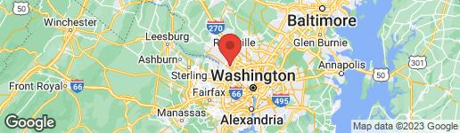 Map of 9311 HARRINGTON DRIVE POTOMAC, MD 20854