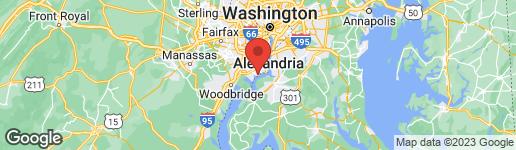 Map of 9312 MAYBROOK PLACE ALEXANDRIA, VA 22309