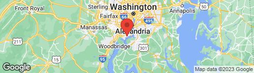 Map of 9316 HEATHER GLEN DRIVE ALEXANDRIA, VA 22309