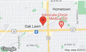 Map of 9339 South 49th Court OAK LAWN, IL 60453