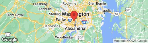 Map of 934 19TH STREET S ARLINGTON, VA 22202