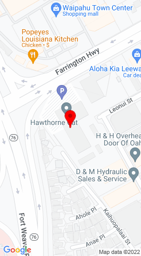 Google Map of Hawthorne Pacific Corp 94-025 Farrington Highway, Waipahu, HI, 96797