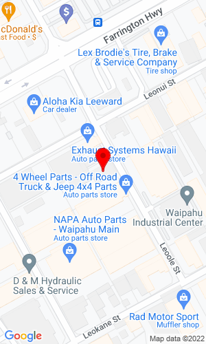 Google Map of Allied Machinery Corp. 94-168 Leoole Street, Waipahu, HI, 96797-0126