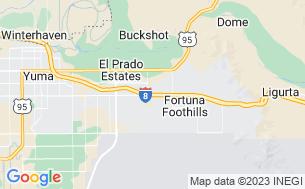 Map of Bonita Mesa RV Resort