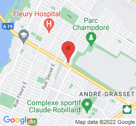Google Map of 9411+Rue+Papineau%2CMontreal%2CQuebec+H2M+2G5