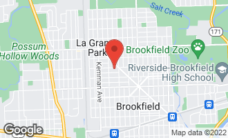 Map of 9421 Jackson Avenue BROOKFIELD, IL 60513