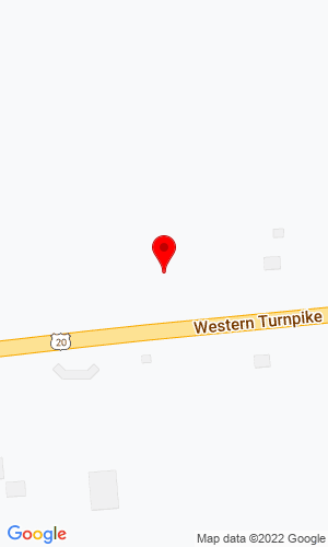 Google Map of Collar City Auctions 9423 Western Turnpike (Rte. 20), Delanson, NY, 12053
