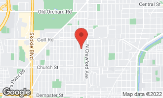 Map of 9437 Karlov Avenue SKOKIE, IL 60076