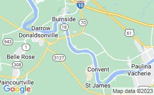 Map of Sugar Hill RV Park
