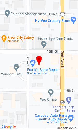 Google Map of Courts Machinery Co. 949 3rd Avenue, Windom, MN, 56101