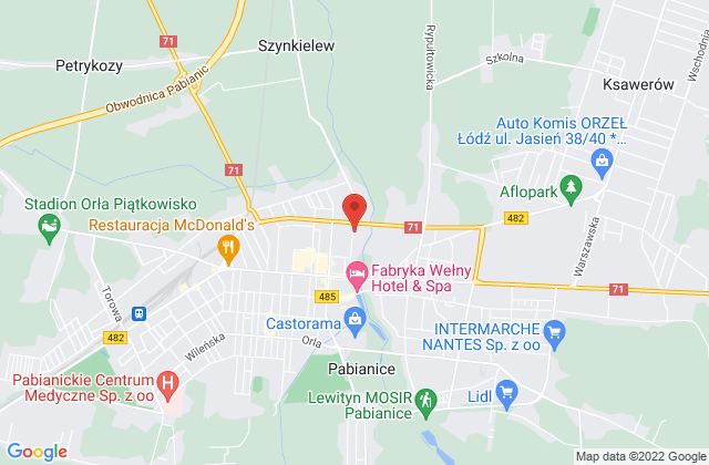 Wyświetl Maciej Czarnecki,MCM Maciej Czarnecki na mapie