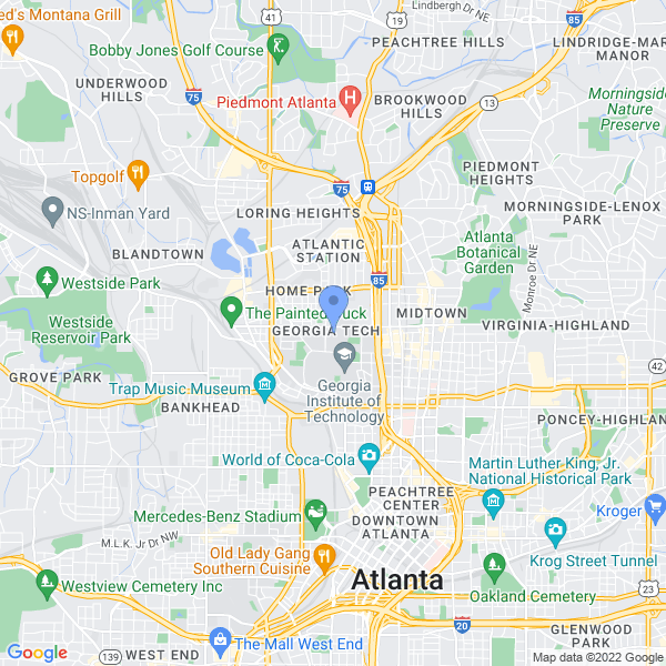 ComSciCon: Atlanta Map