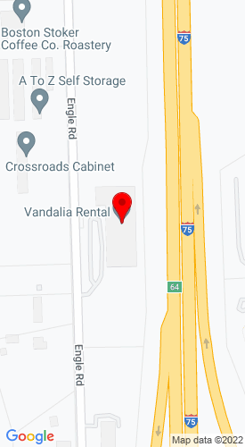 Google Map of Vandalia Rental 950 Engle Road Po Box 160, Vandalia, OH, 45377