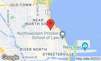 Map of 950 North Michigan Avenue #4304 CHICAGO, IL 60611