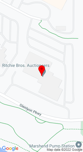 Google Map of Ritchie Bros. Auctioneers 9500 Glenlyon Pkwy, Burnaby, British Columbia, Canada, V5J 0C6