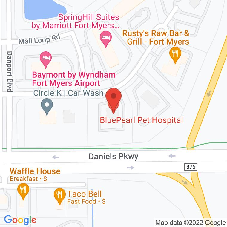 Google Map of 9500 Marketplace Road, Fort Myers, FL 33912, 9500 Marketplace Road, Fort Myers, FL 33912
