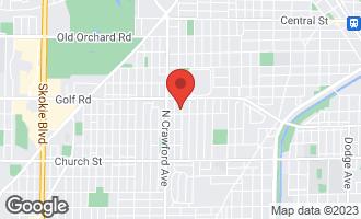 Map of 9508 Springfield Avenue EVANSTON, IL 60203
