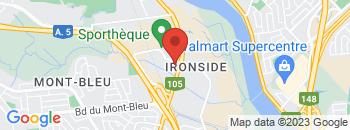 Google Map of 951+Boul+St-Joseph%2CGatineau%2CQuebec+J8Z+1S8