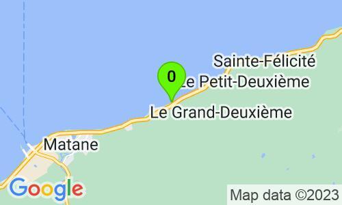 Carte du 951 chemin de la Grève, Matane, G4W 7A1, Québec