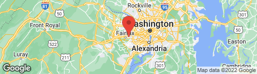 Map of 9511 SHELLY KRASNOW LANE FAIRFAX, VA 22031