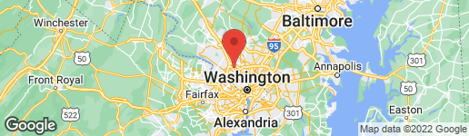 Map of 9518 FOREST ROAD BETHESDA, MD 20814