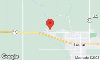 Map of 954 West Clinton Street Toulon, IL 61483