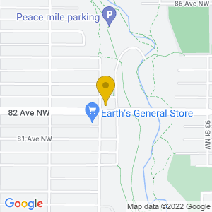 Map to The Sewing Machine Factory provided by Google