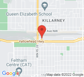 Google Map of 9590+-+125+A+Avenue%2CEdmonton%2CAlberta+T5G+0W4
