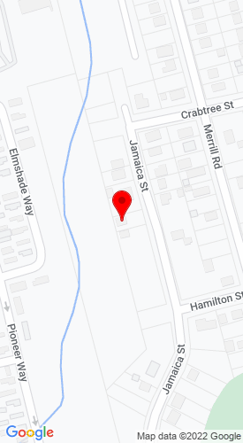 Google Map of M G Equipment 96 Jamaica St, Springfield, MA, 01119