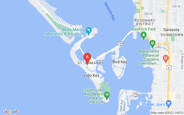 96 N Washington Dr Sarasota Florida 34236 locatior map
