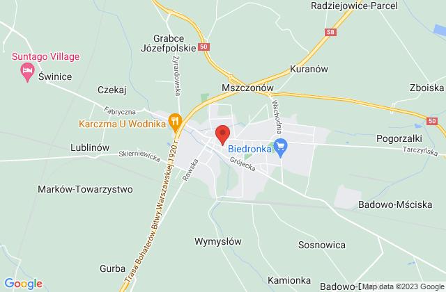 Wyświetl P.H. Dorota i Grzegorz Koperscy s.c. na mapie