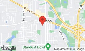 Map of 96 West Moreland Avenue ADDISON, IL 60101