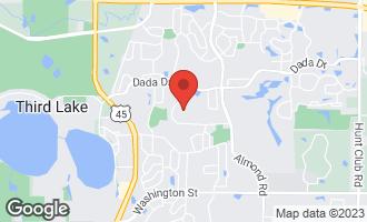Map of 967 Vineyard Drive GURNEE, IL 60031