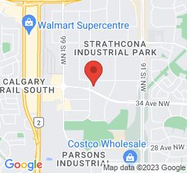Google Map of 9688+-+34+Avenue%2CEdmonton%2CAlberta+T6E+6S9