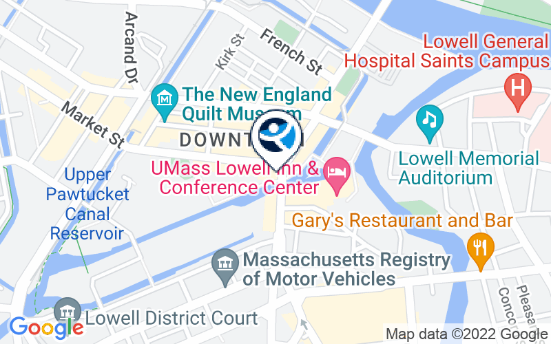 Institute for Health and Recovery - Lowell Location and Directions